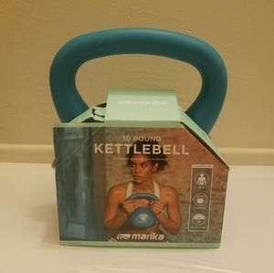 Marika 10 lb kettlebell weight